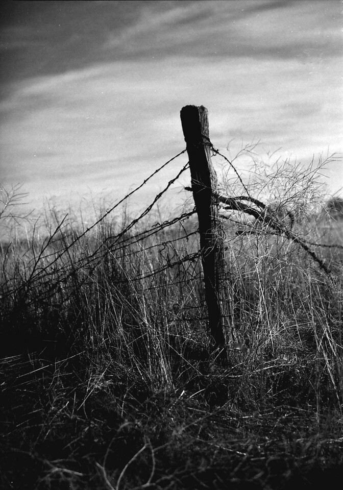 Dunlap Fence Post