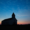 Almost got me a sunset!  Dodson Prairie Catholic Church