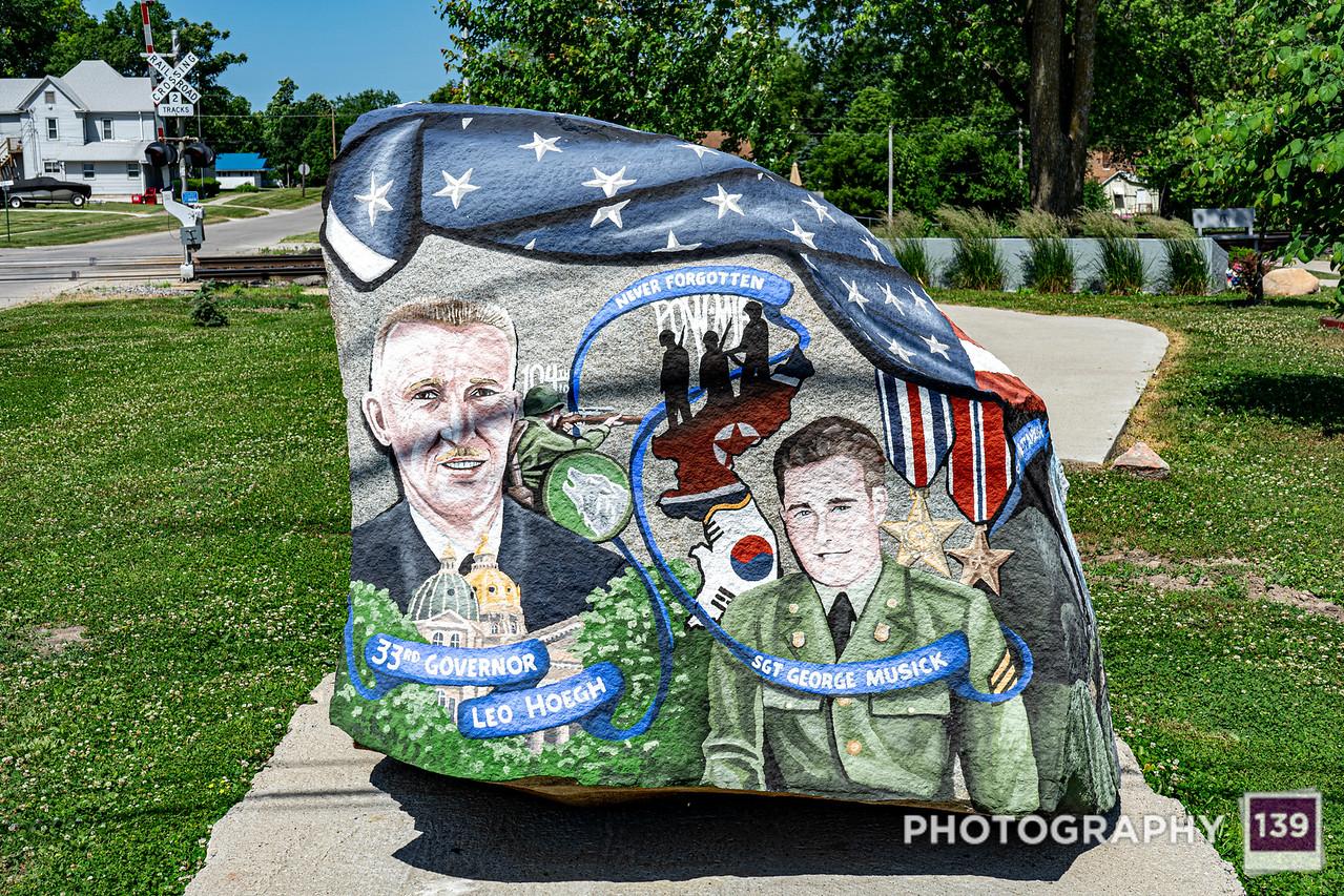 Lucas County Freedom Rock