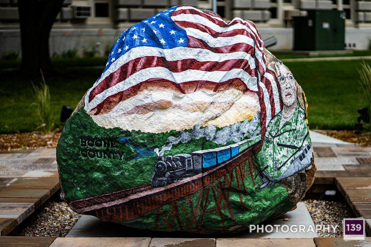 Boone County Freedom Rock