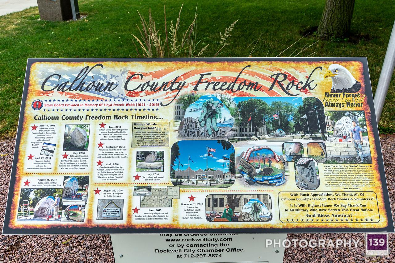 Calhoun County Freedom Rock