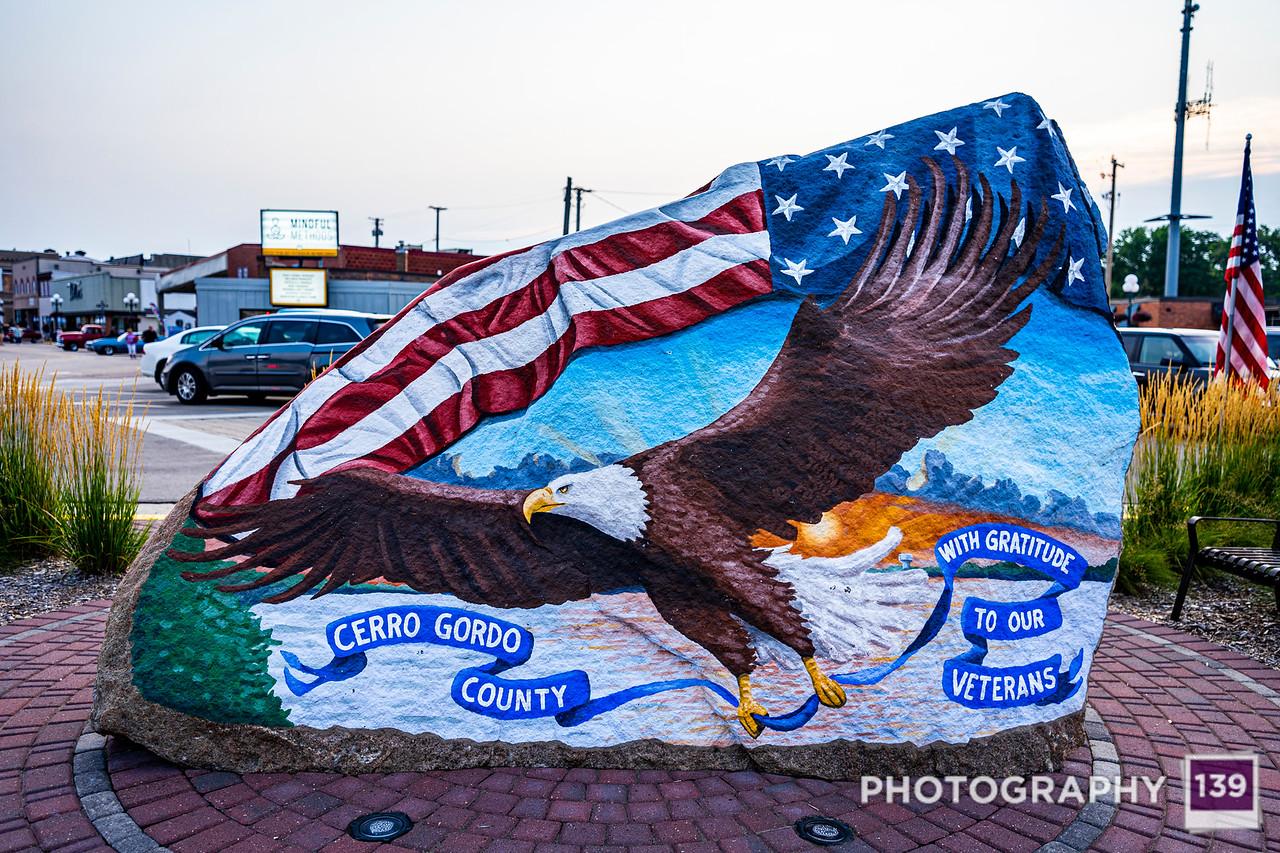 Cerro Gordo County Freedom Rock