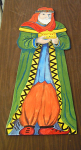 manger figures, wiseman 2