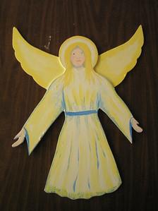 manger figures, angel