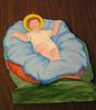 manger figures, Jesus