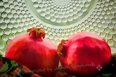 Duo of Pomegranates