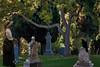 Dusk at the Cemetery