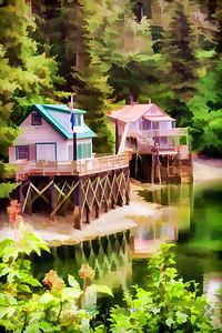 Houses in Seldovia