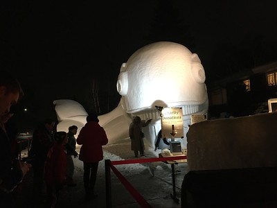 """Minnesota brothers build Walvis the whale, their biggest snow sculpture yet  https://www.fox9.com/news/minnesota-brothers-build-walvis-the-whale-their-biggest-snow-sculpture-yet """"..Their creativity is also an expression of charity, as Austin Bartz says this year's creation will help raise funds for clean water in Africa.  """"We love to give back. We know that other countries have a lack of clean water, and we really take it for granted here. We drink water every day that is perfectly clean and we don't even think twice about it.""""  https://salphotobiz.smugmug.com/Minnesota/New-Brighton-in-Ramsey-County/"""