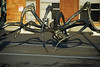 """""""Crouching Spider"""" installation in San Francisco, CA,  by the San Francisco Arts Commission, 2007 to early 2009.  Artist Louise Bourgeois, born in Paris, Dec 11, 1911, died in New York, May 31, 2010."""