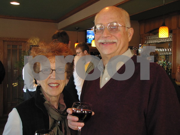 Pam and Doug Sanders attended the ICCC Art Expose' at Willow Ridge Restaurant.