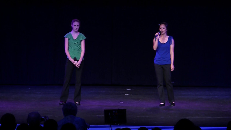 For Good, Wicked<br /> Connie Chen, Natalie Wilson<br />  <br /> Culmination Spring Concert 2012<br />  5/12/2012