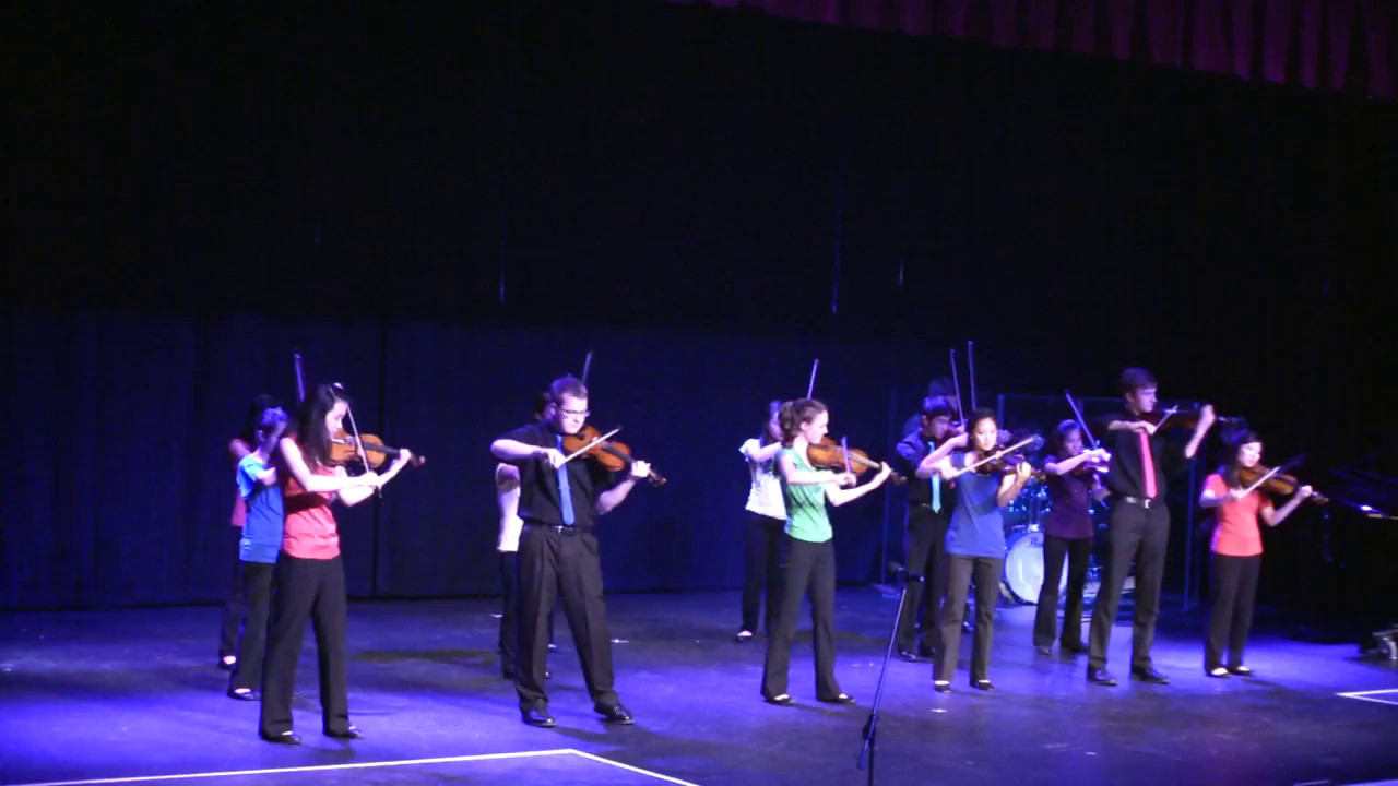 Bad Romance & Baby<br /> <br /> Culmination Spring Concert 2012<br /> 5/12/2012