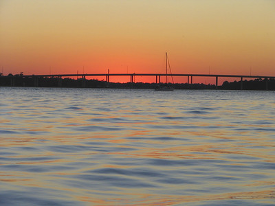 Sunset Charleston Battery