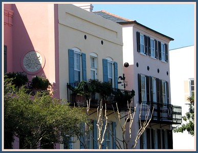 Rainbow Row Charleston, SC
