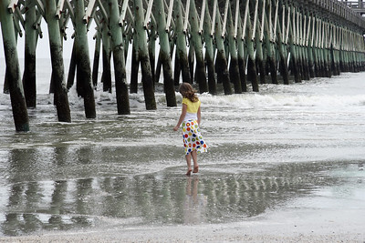 Folly Beach South Carolina Pier