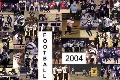 High School Football Collage