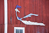 Roadrunner on Barn, Rock County, Wisconsin