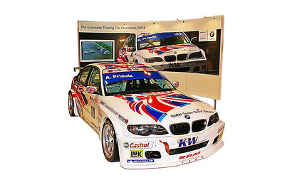 Autosport Show, European Championship BMW 320i on Stand Digital Artwork