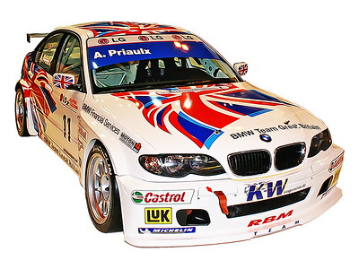Autosport Show, European Championship BMW 320i Digital Artwork