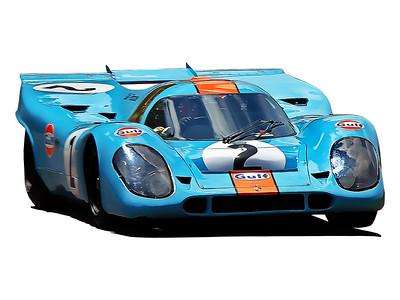 Gulf Porsche 917 K 013