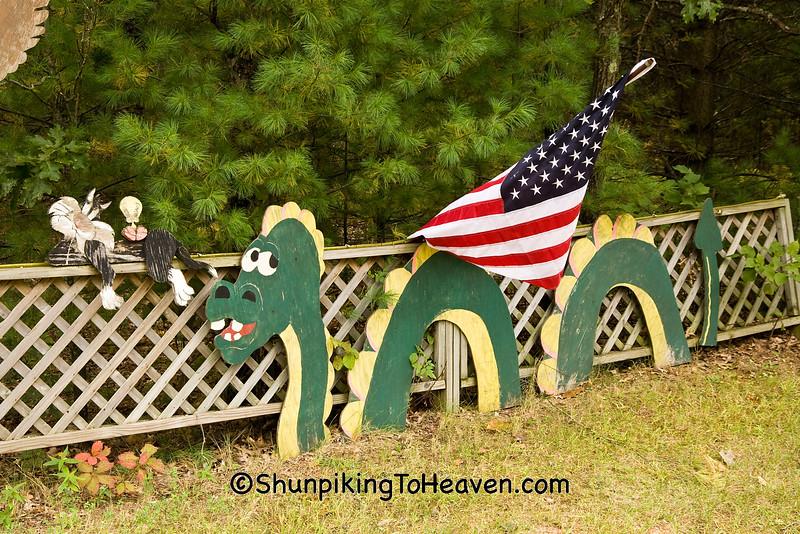 Sea Serpent (Loch Ness Monster), Waushara County, Wisconsin