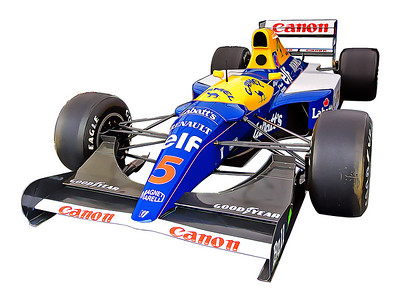 Williams F! FW14B, Mansel Red 5