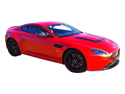 Aston Martin Digital Artwork