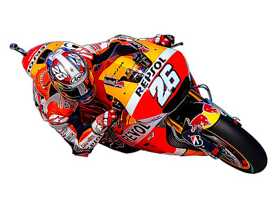 Dani Pedrosa Digital Artwork
