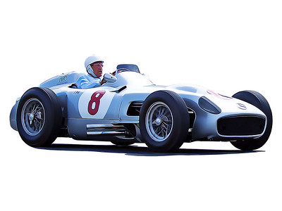 Sir Stirling Moss, 1954 Mercedes-Benz W196