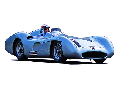 Sir Jackie Stewart, 1954 Mercedes-Benz W196 Streamliner