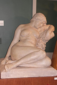 Lethe sculpture by Cyrus Dallin copyright 2007 by Tracy Marks