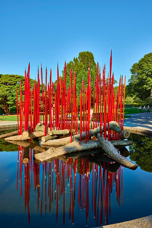 September 16, 2017- New York, NY - New York Botanical Garden in the Bronx- Dale Chihuly exhibit  Photographer- Robert Altman Credit: Robert Altman