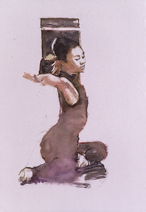 Study for 'Yurie' (2002)