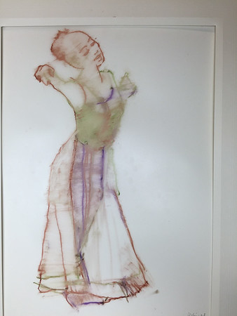 Color Study for 'Dancer in White Skirt II' (2002)
