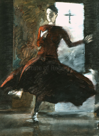 Study for Guinevere in Purple (2003)