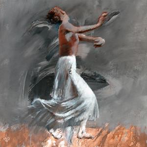 White Skirt On Grey (2003)