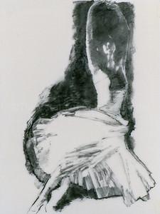 Study for Dancer Ascending I (2003)