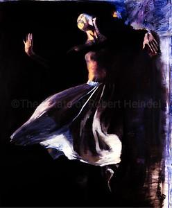 White Skirt on Black (2003)