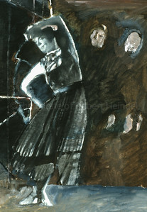 Guinevere, Out of the Shadows - Colour Study (2003)