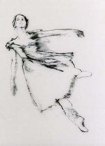 Study for Dancer Ascending II (2003)
