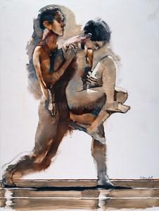 Study for Pas de Deux (2004)