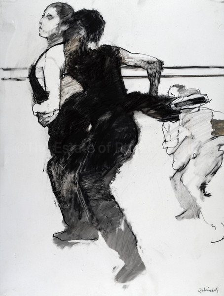 Study for Dancers in Black