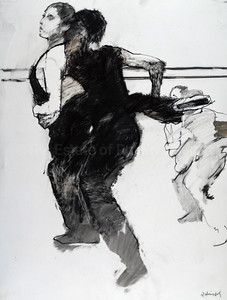 Study for Dancers in Black (2004)
