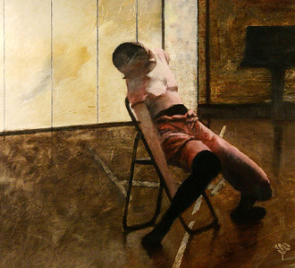 Dancer On Black Chair (2005)