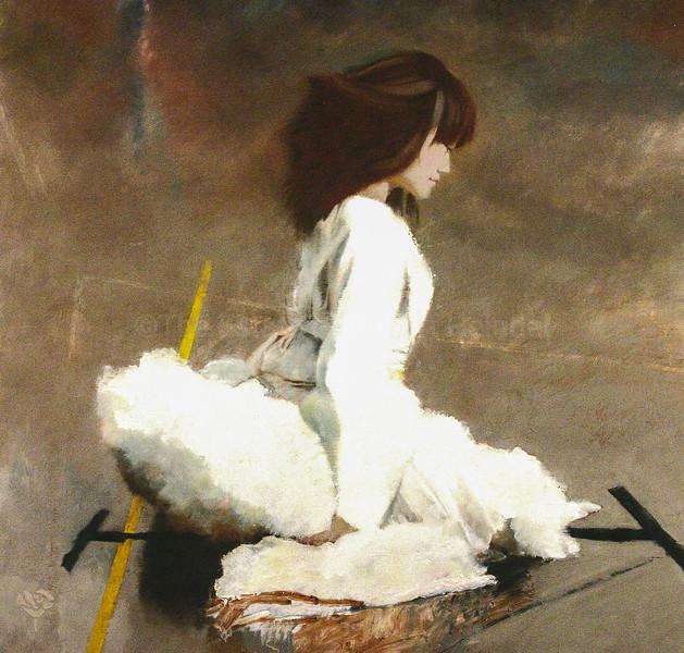 Miyako in White