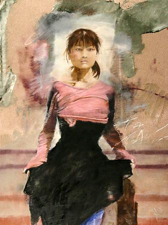 Miyako, Black and Pink