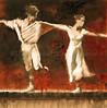 Dancers in White - Study I