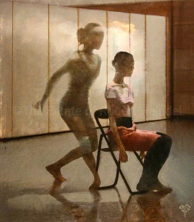 Dancer Sitting, Dancer Standing