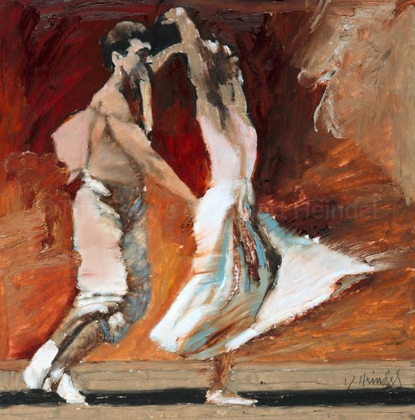 Dancers in White - Study II